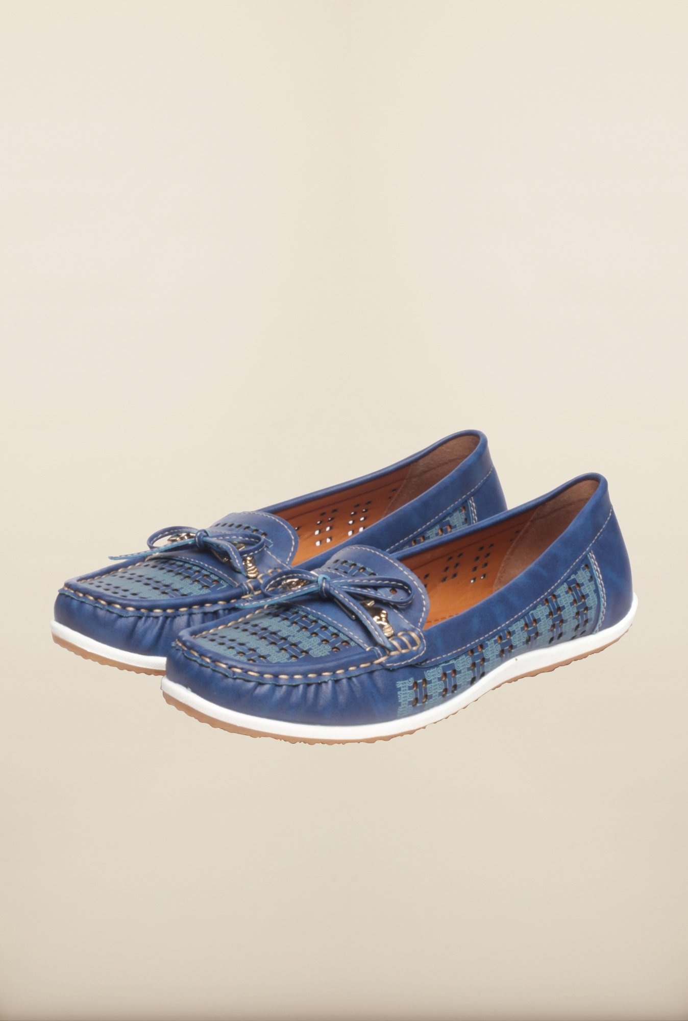 Pavers England Blue Moccasins