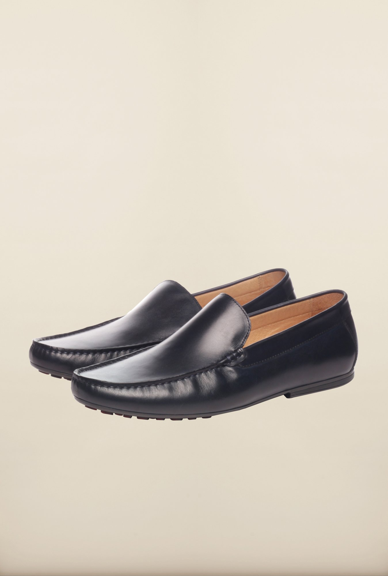 Pavers England Navy Loafers