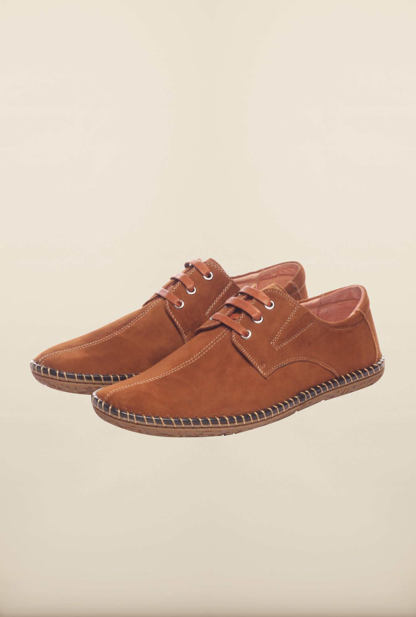 Pavers England Tan Casual Shoes