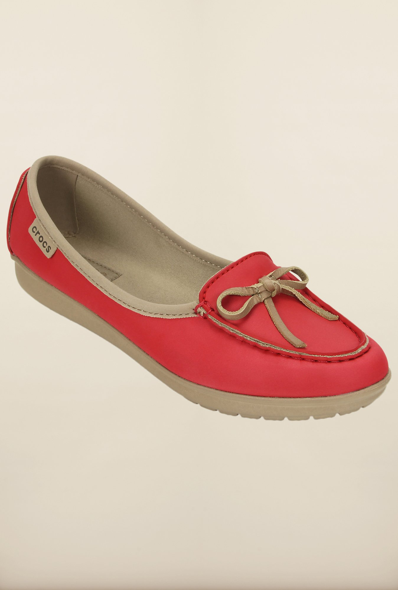Crocs Wrap Color Lite Ballet Coral and Tumbleweed Loafer