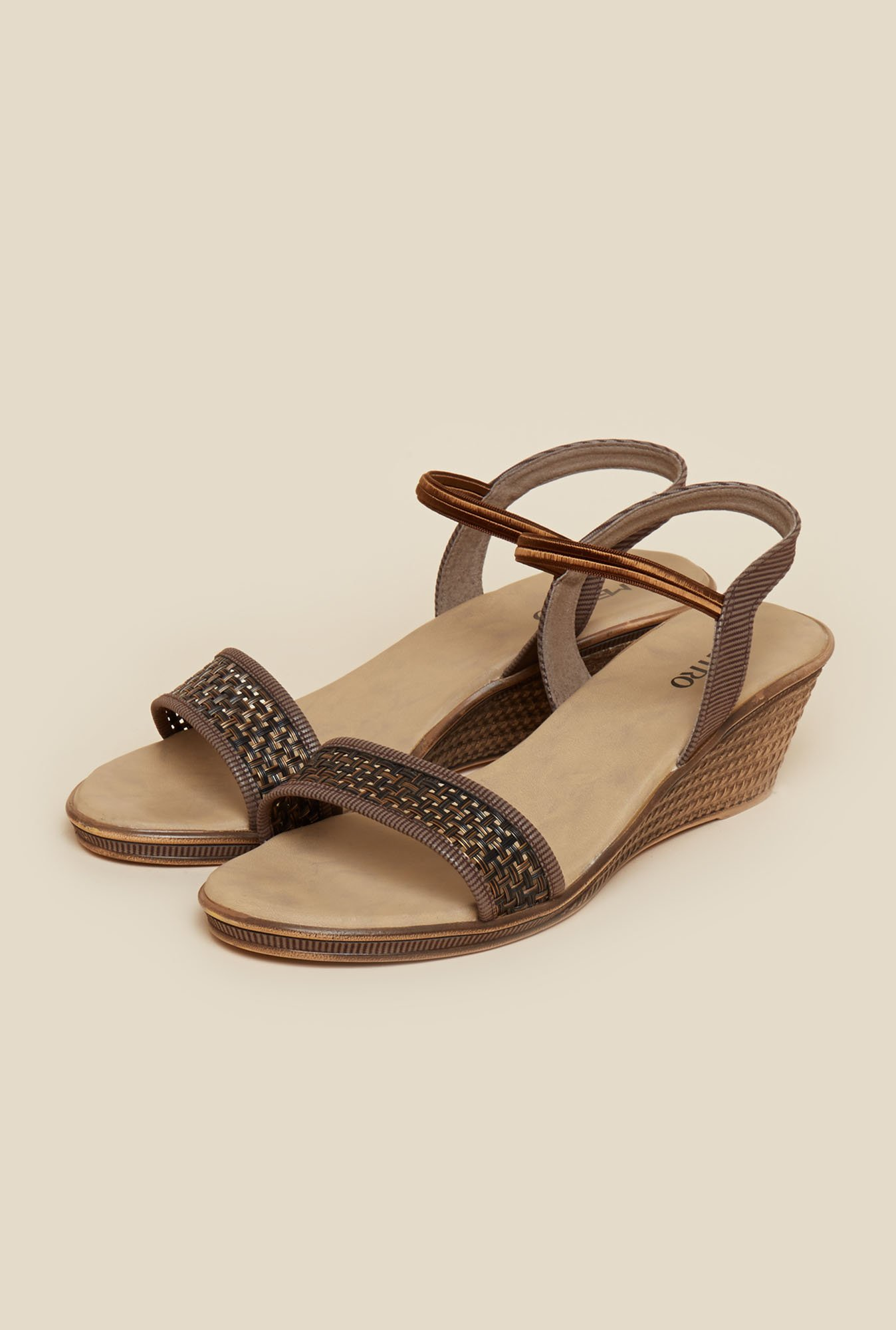 Metro Brown Open Toe Sandals