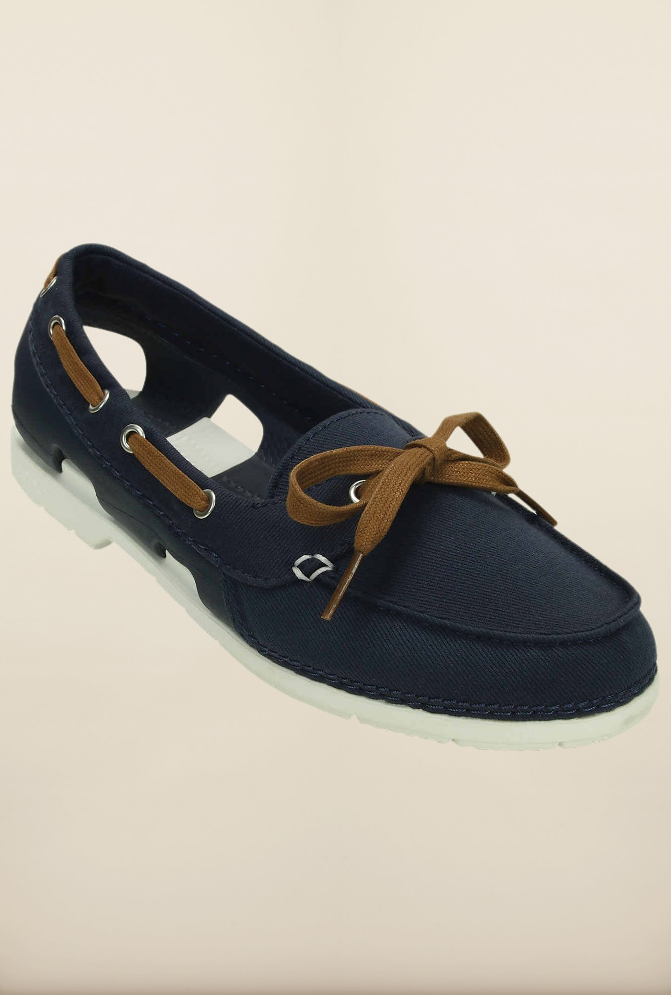 Crocs Beach Line Hybrid Navy & White Shoes