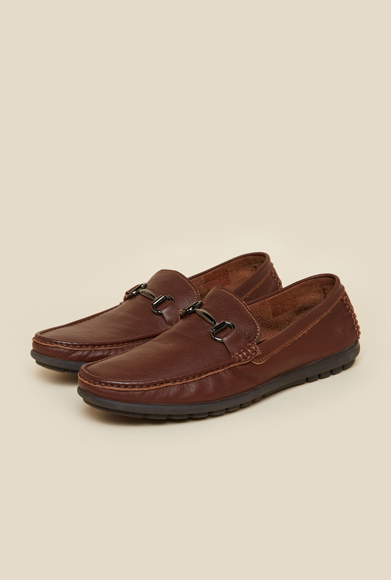 Da Vinchi by Metro Leather Brown Moccasin