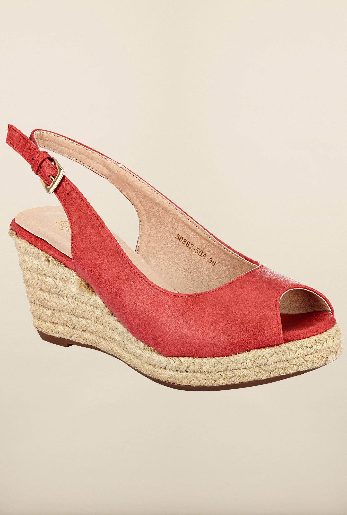 Tresmode Chwed Red Wedges