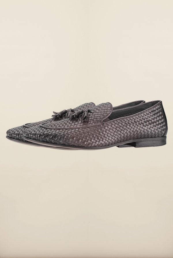 Tresmode Bemesh Brown Loafers
