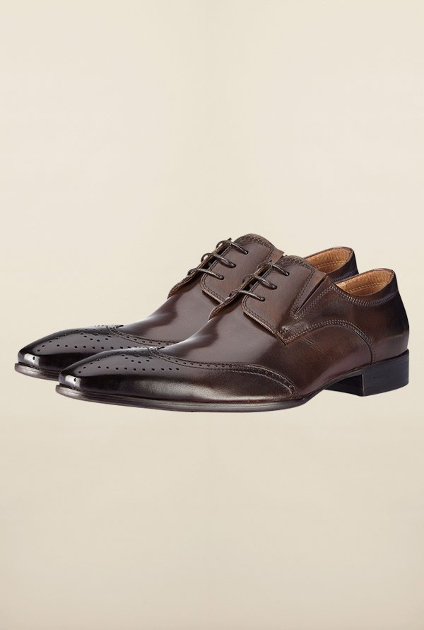 Tresmode Yue Brown Brogue Shoes