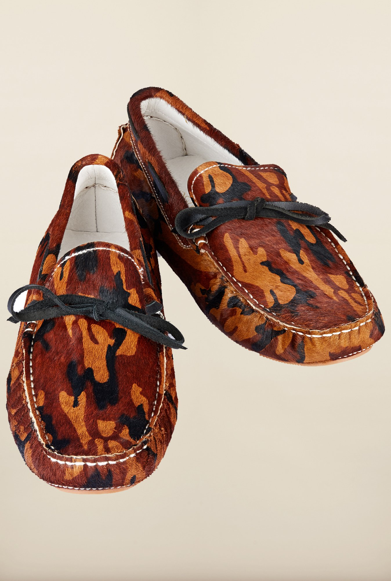 Tresmode Jinpony Brown Moccasins