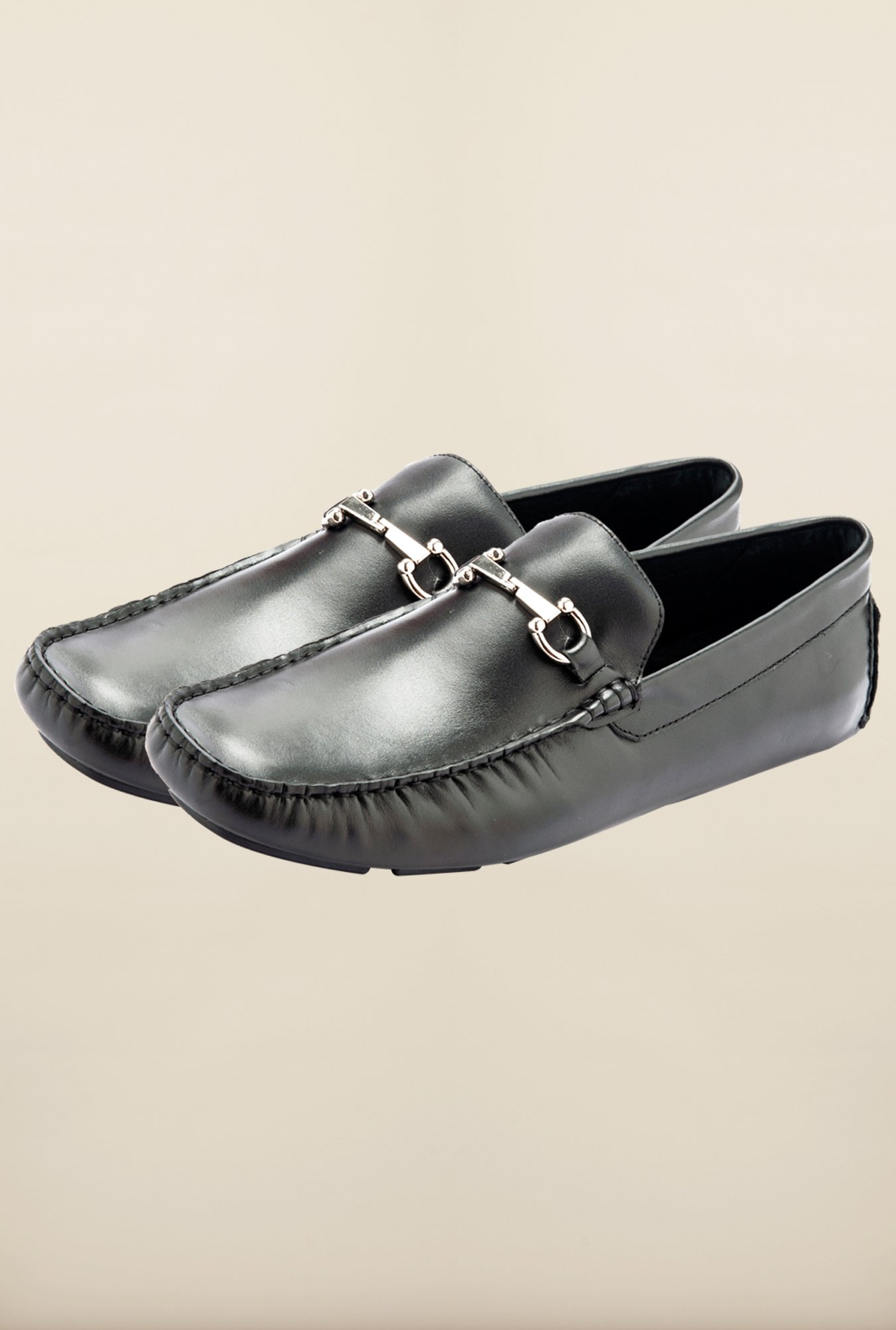 Tresmode Savgo Black Loafers