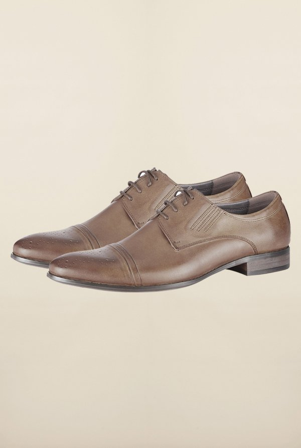 Tresmode Bobr Brown Brogue Shoes