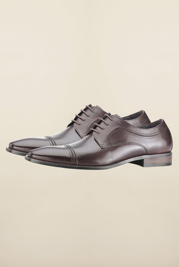 Tresmode Jwine Wine Derby Shoes