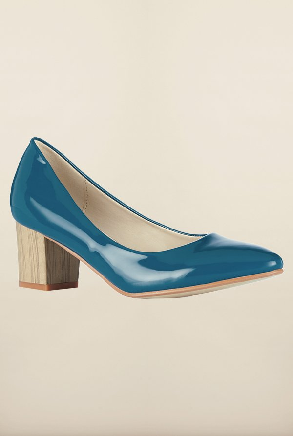 Tresmode Cecane Blue Slide Shoes