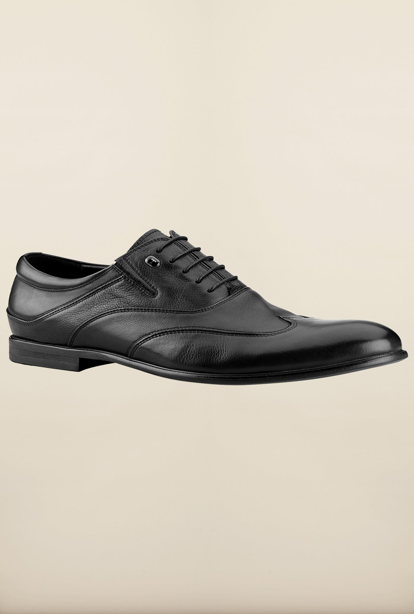 Tresmode Begano Black Oxford Shoes