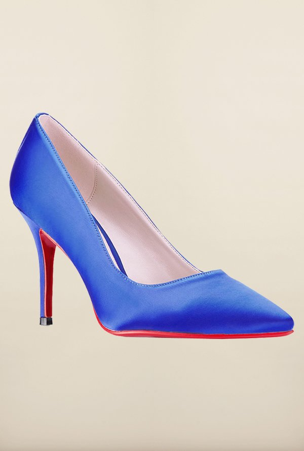 Tresmode Bepunew Royal Blue Stilettos