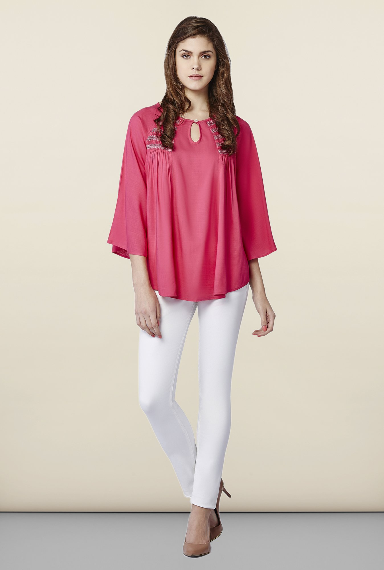 AND Rosa Solid Tunic