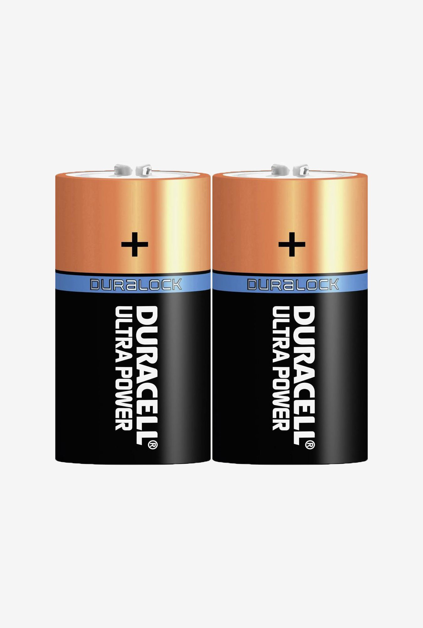 Duracell LR20 D Alkaline Battery Black (Pack of 2)