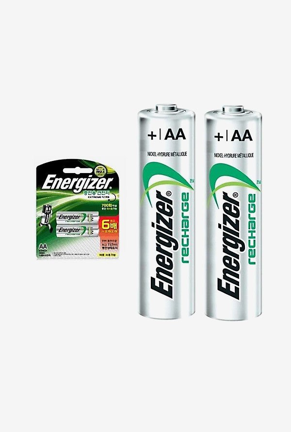 Energizer LR6 AA Alkaline Battery White (Pack of 2)