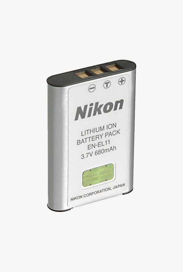 Nikon EN-EL 11 Lithium-Ion Battery Grey