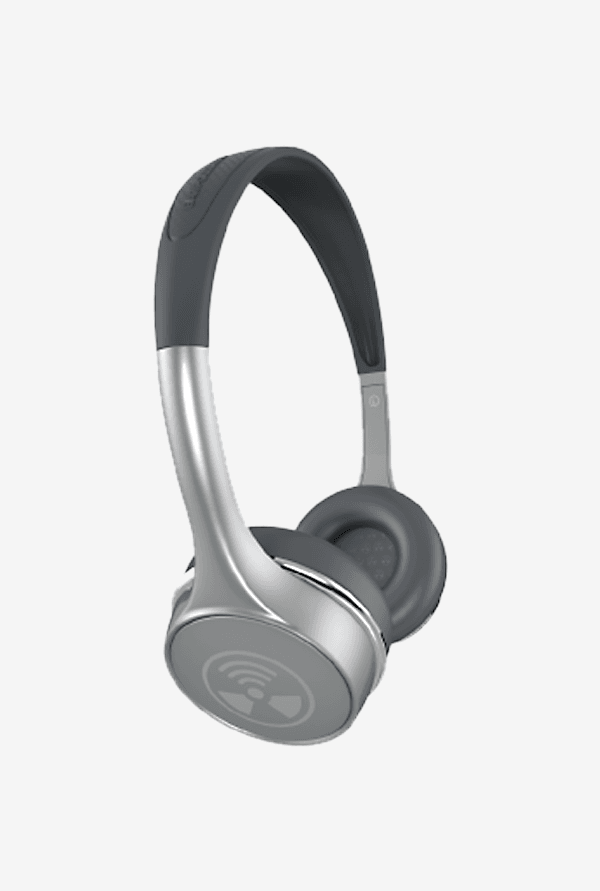 iFrogz Audio Ear Pollution Toxix Plus Headphones Platinum