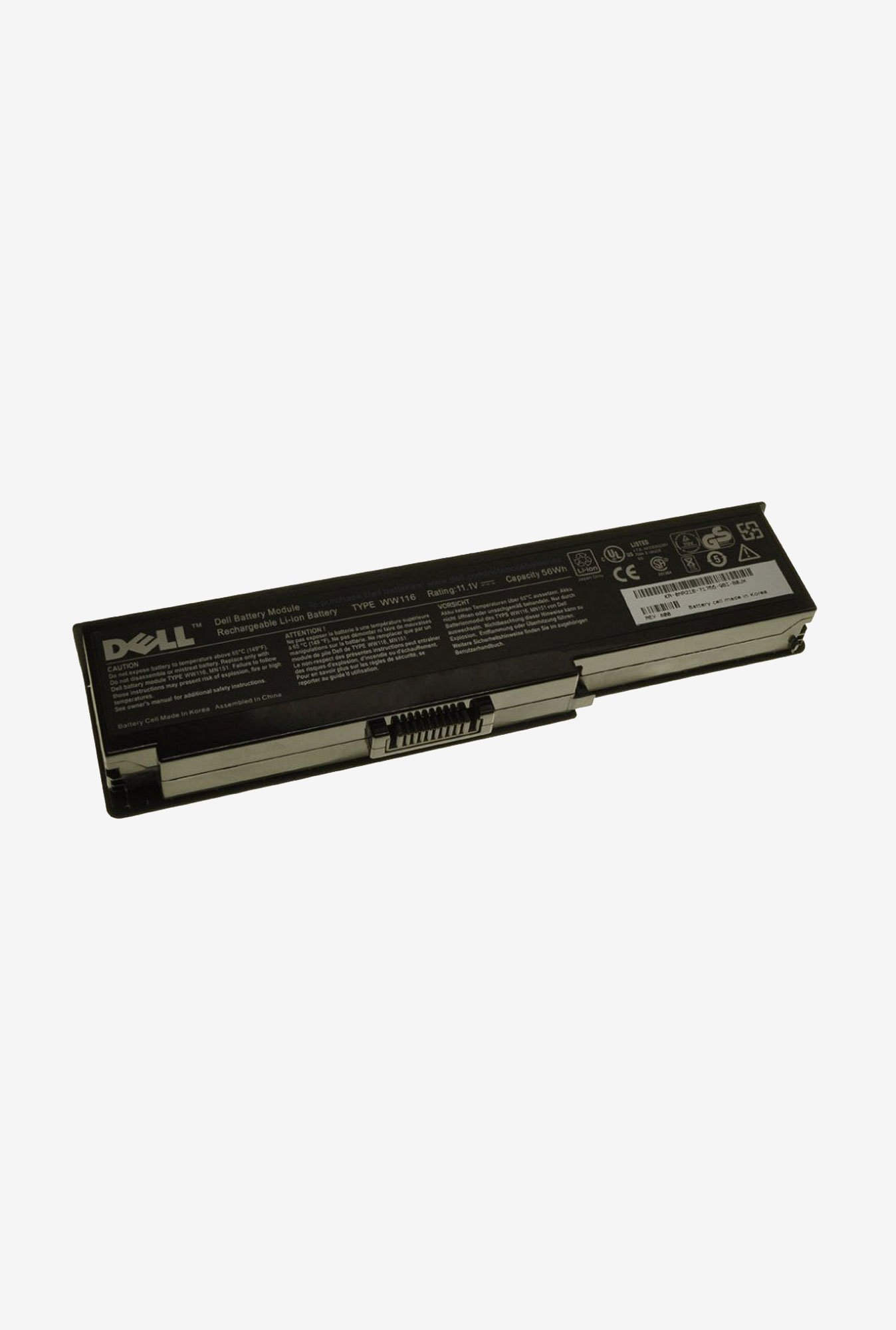 Dell FT079 4840 mAh Laptop Battery Black