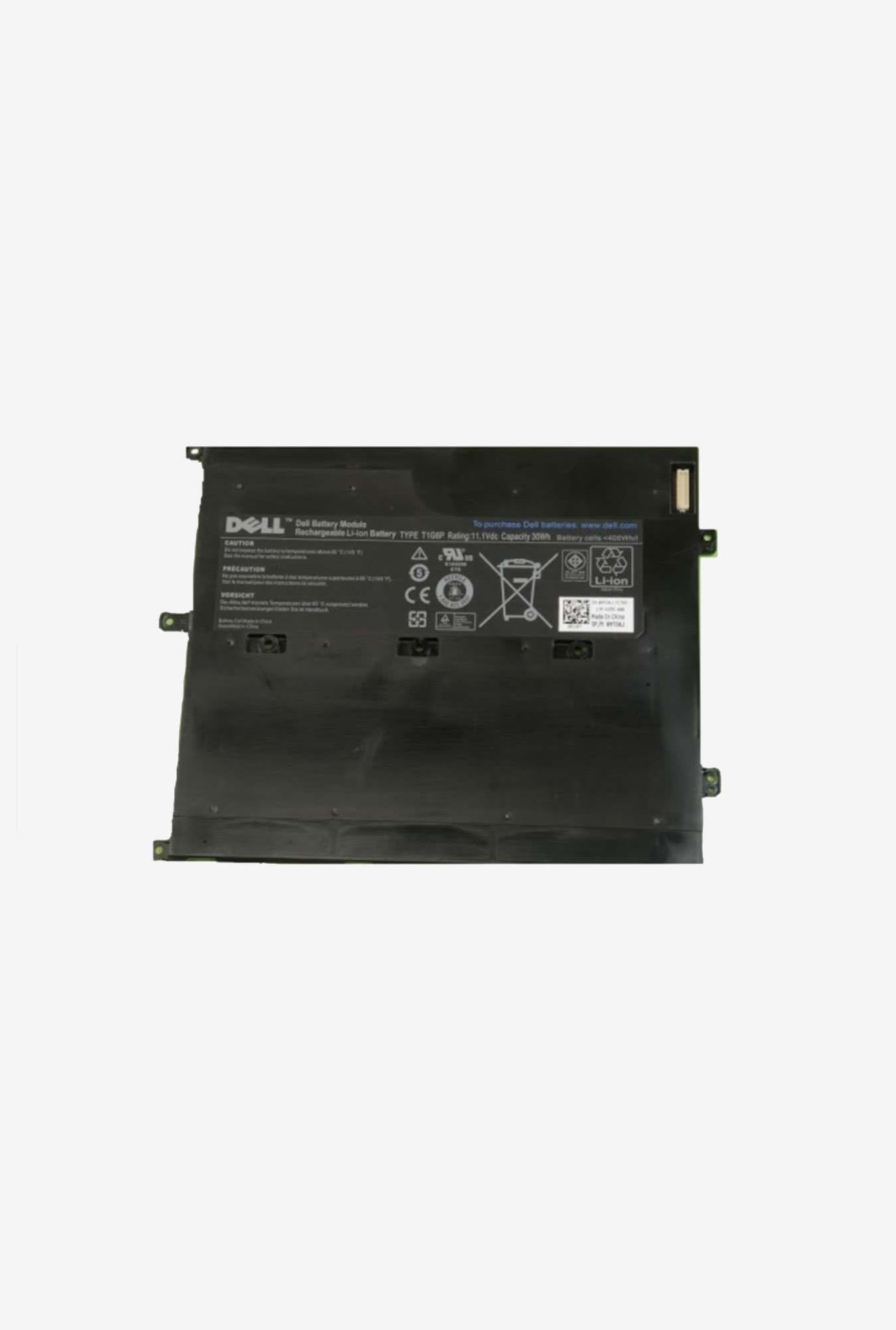 Dell NTG4J 2700 mAh Laptop Battery Black