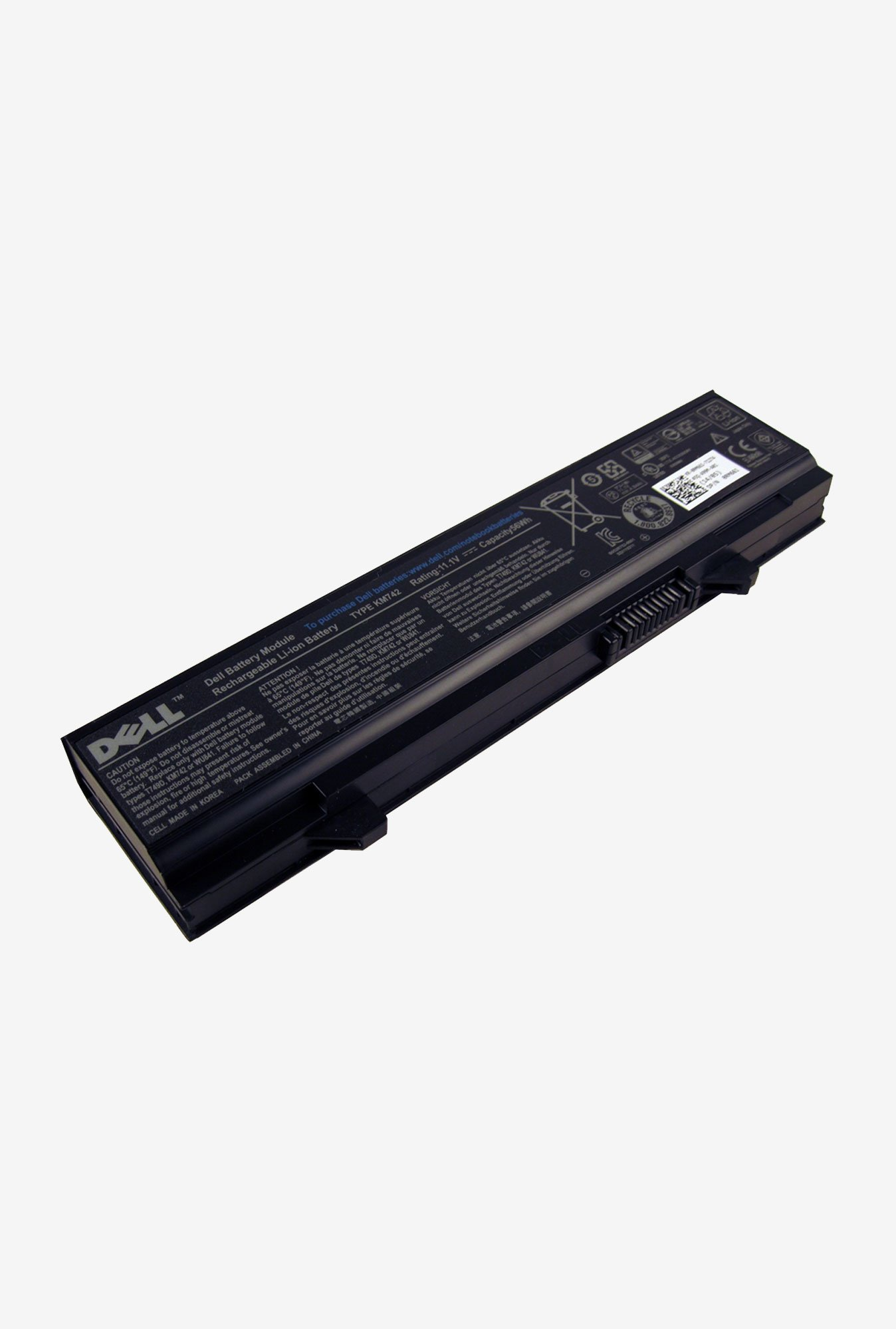 Dell RM661 4840 mAh Laptop Battery Black