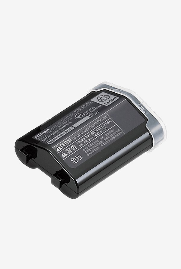 Nikon EN-EL 4a Rechargeable Li-ion Battery Black