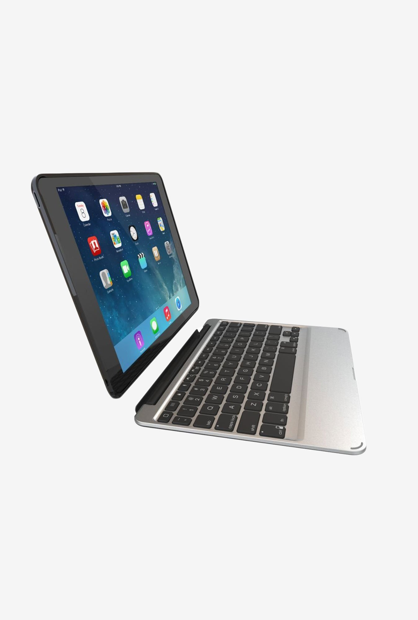 Zagg ID5ZF2 Slim Book Case with Keyboard Black for iPad Air