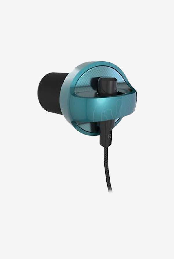 iFrogz Audio Earbuds Carbide with Mic Teal