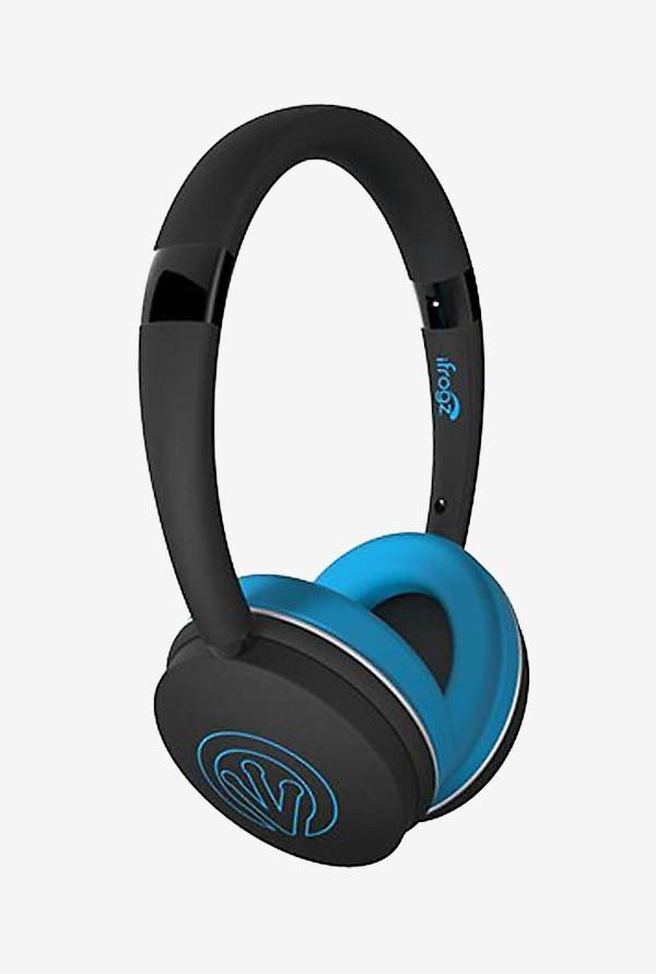 iFrogz FreeRein Reflect Bluetooth Headphones Blue