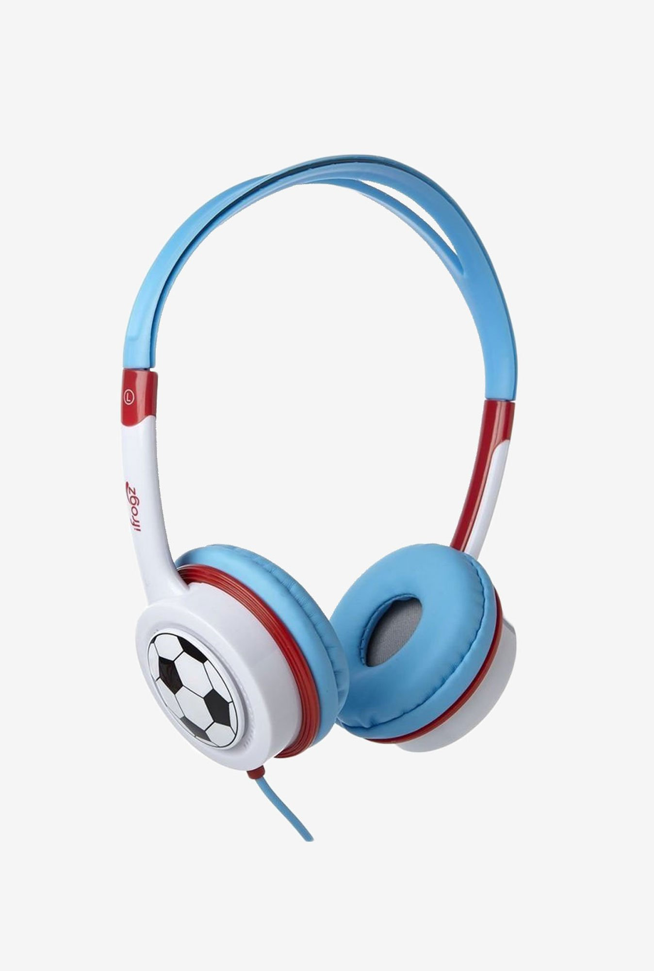 iFrogz Audio Little Rockers Headphones Red & Blue