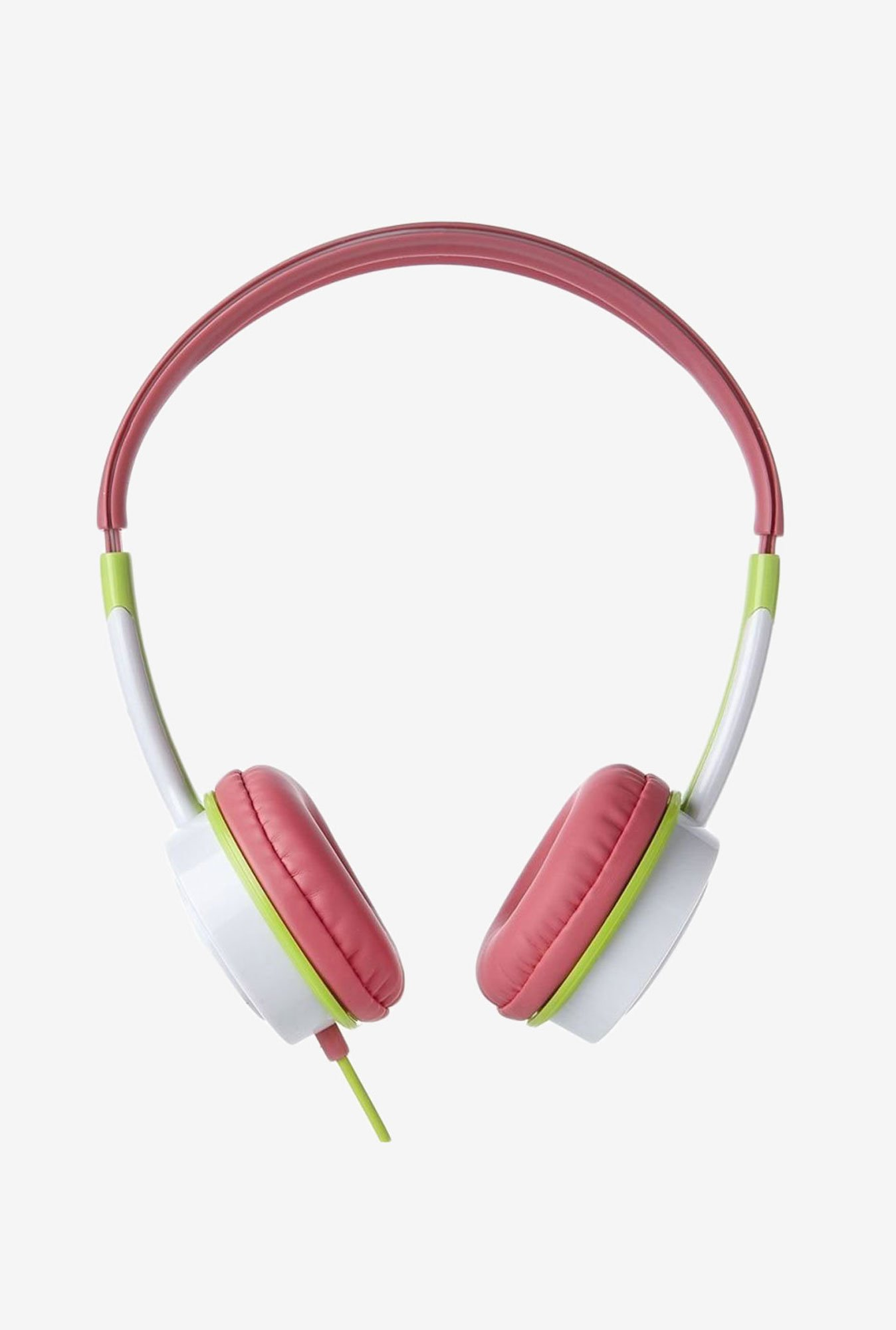 iFrogz Audio Little Rockers Headphones Pink & Green