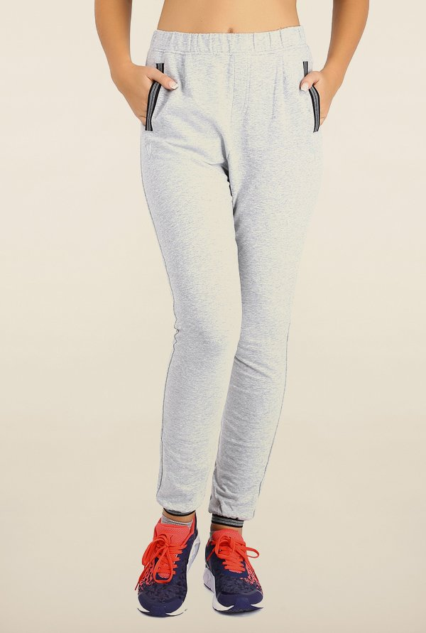 Puma Grey Solid Ferrari Sweat Pants