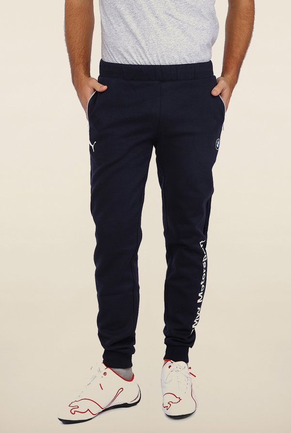 Puma Navy BMW Sweat Track Pants