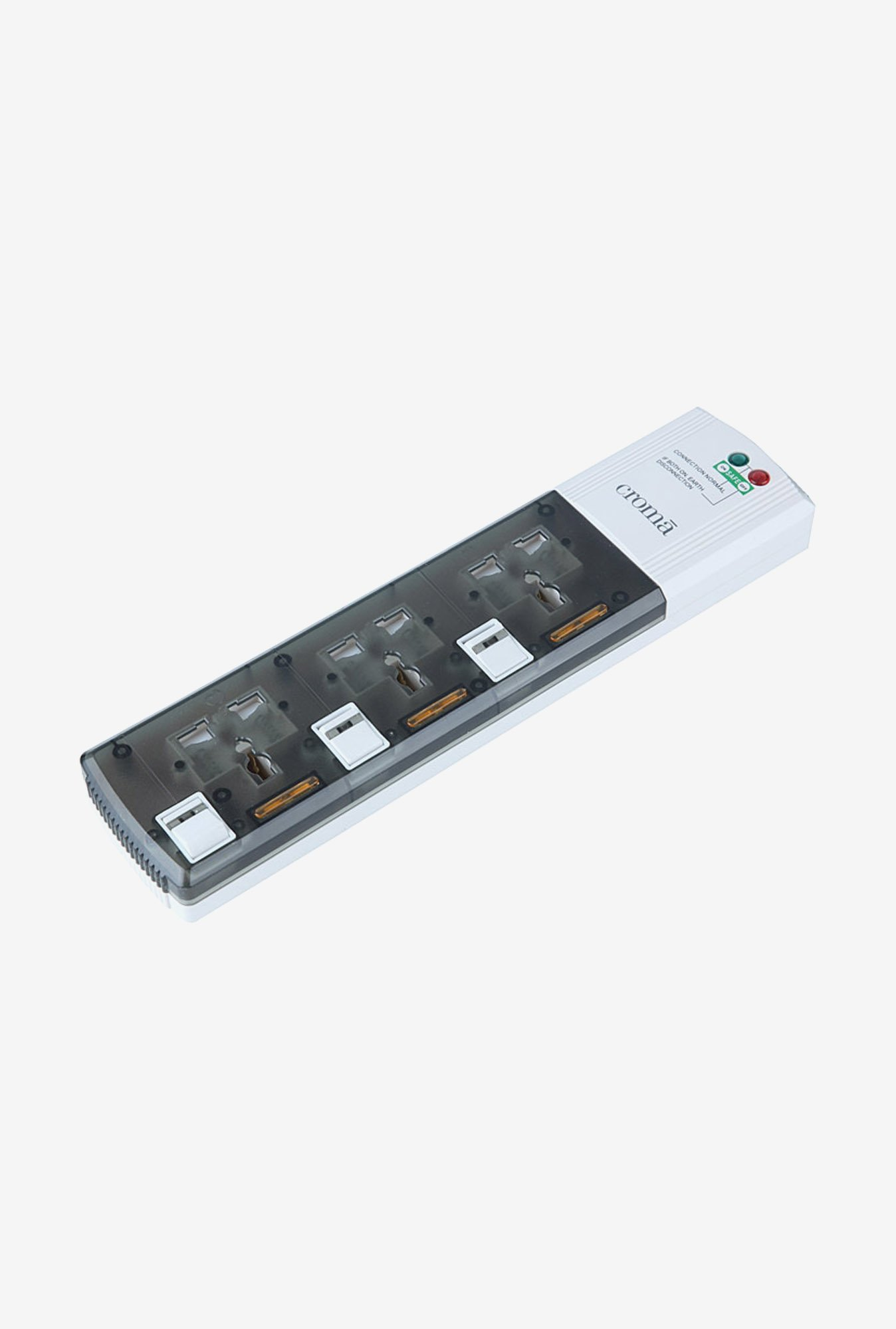 Croma CRP1044 Surge Protector White