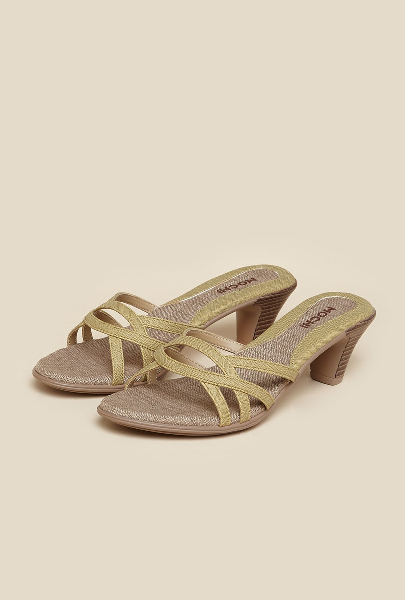Mochi Yellow Casual Sandals