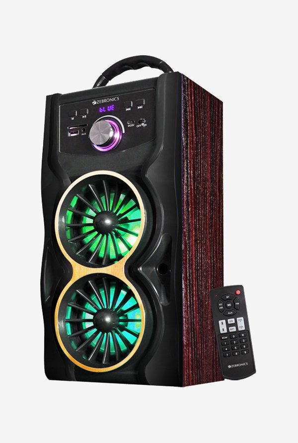 Zebronics Eden Computer Speakers Black