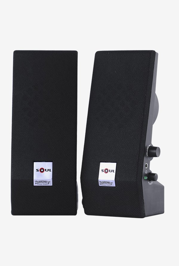 Zebronics Soul S350 Computer Speakers Black