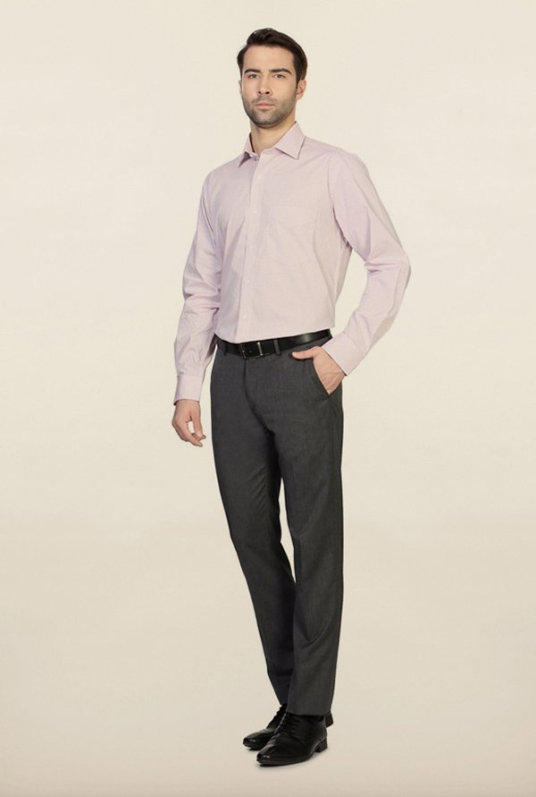 Van Heusen Pink Checks Shirt