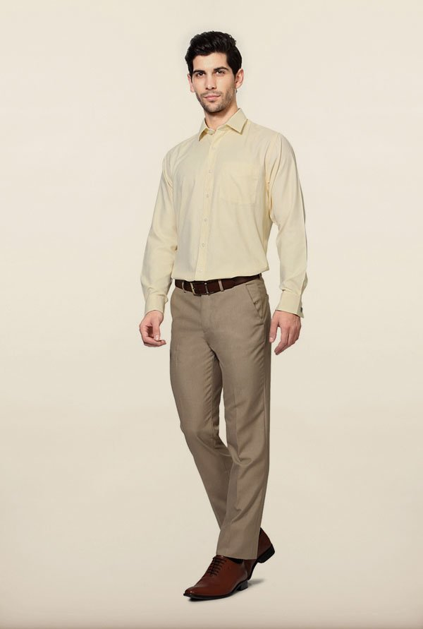 University of Oxford Yellow Formal Shirt