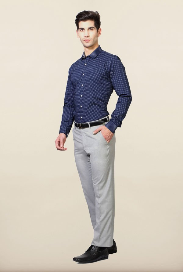 Van Heusen Navy Formal Shirt