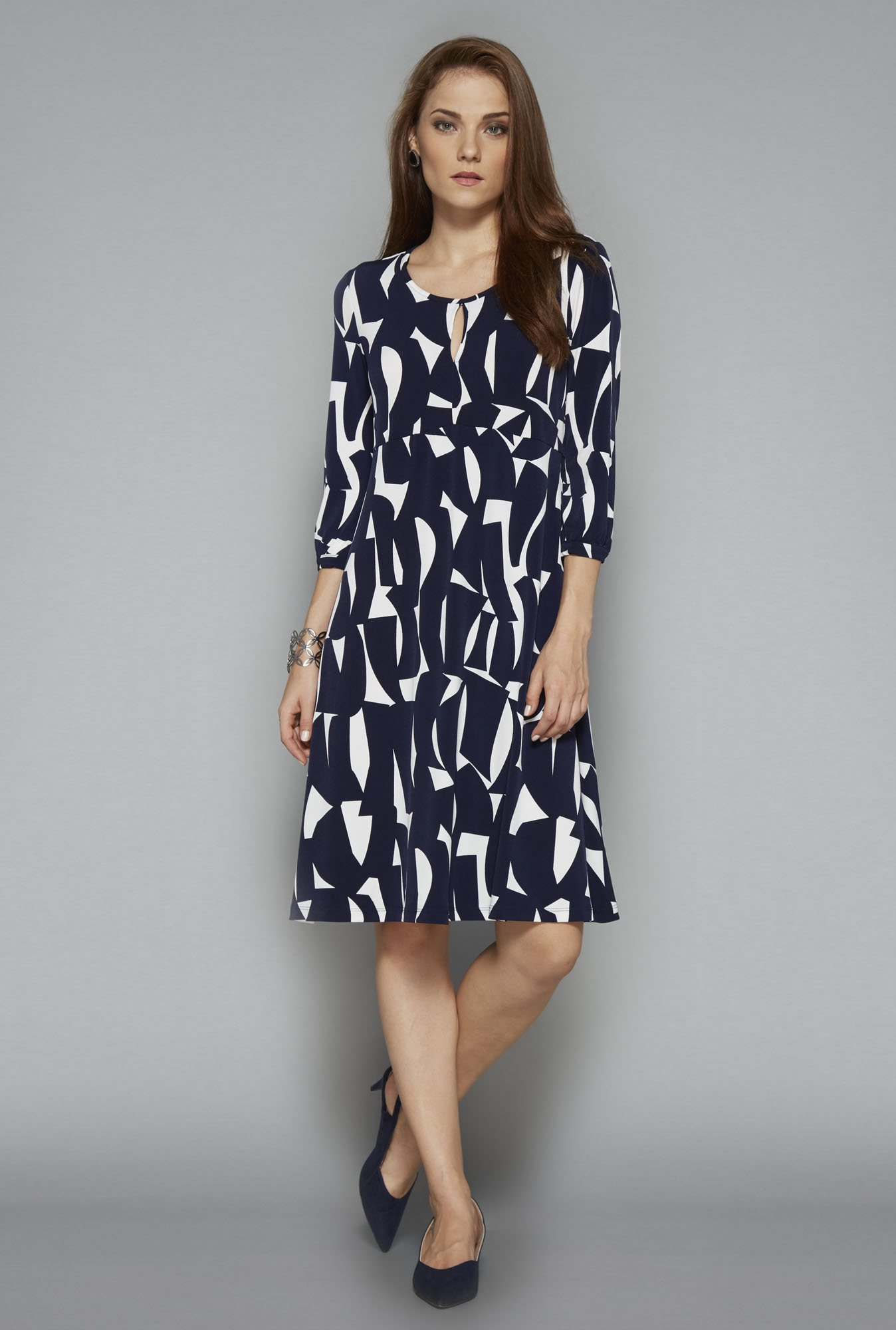 Wardrobe Navy Whistler Dress