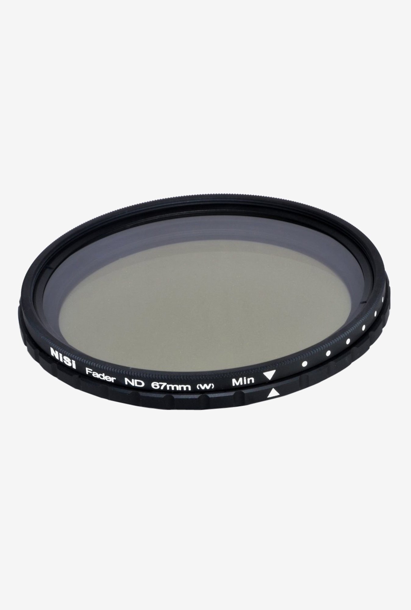 Nisi ND 2-400 67mm Fader Filter Black
