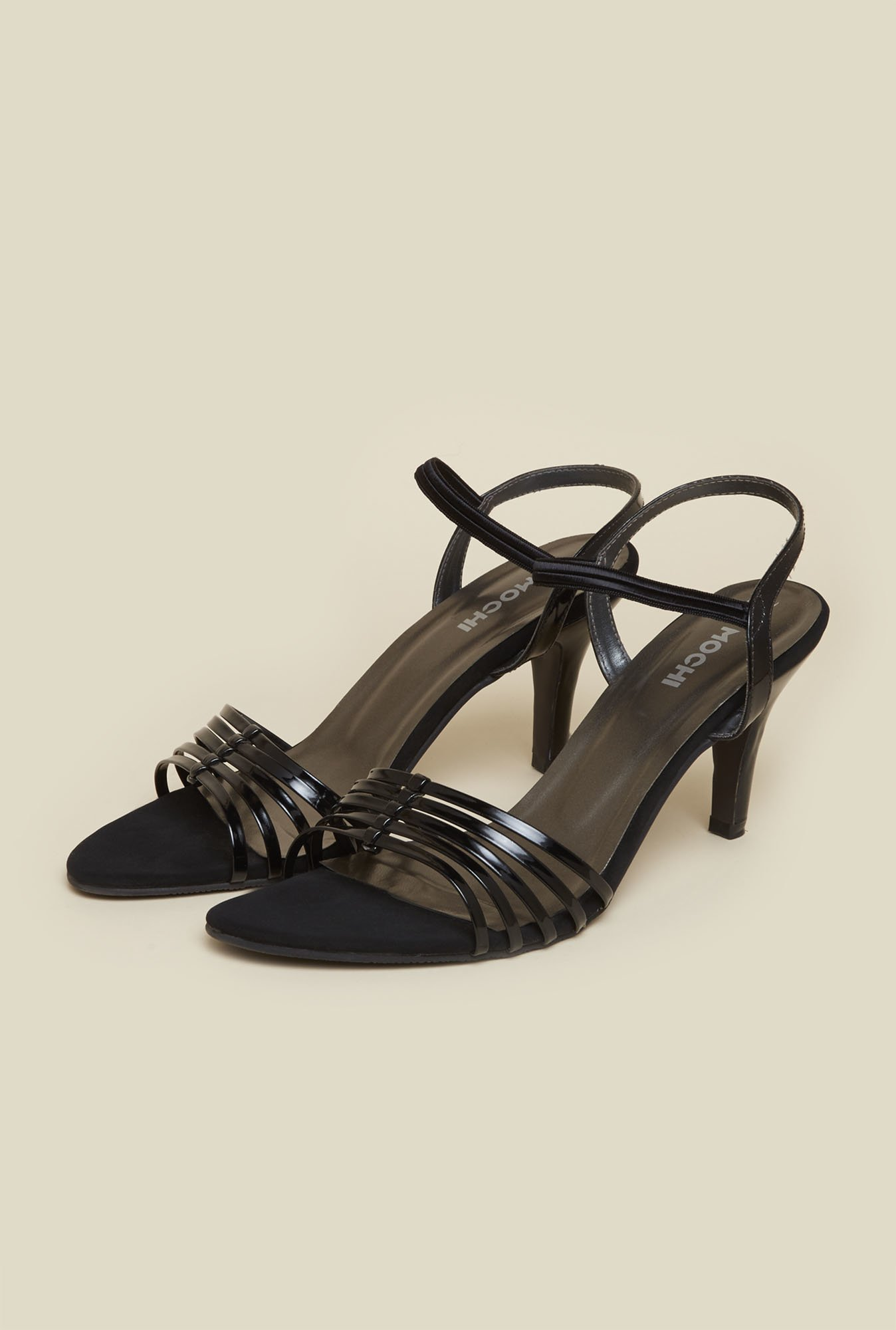 Mochi Black Formal Stilettos