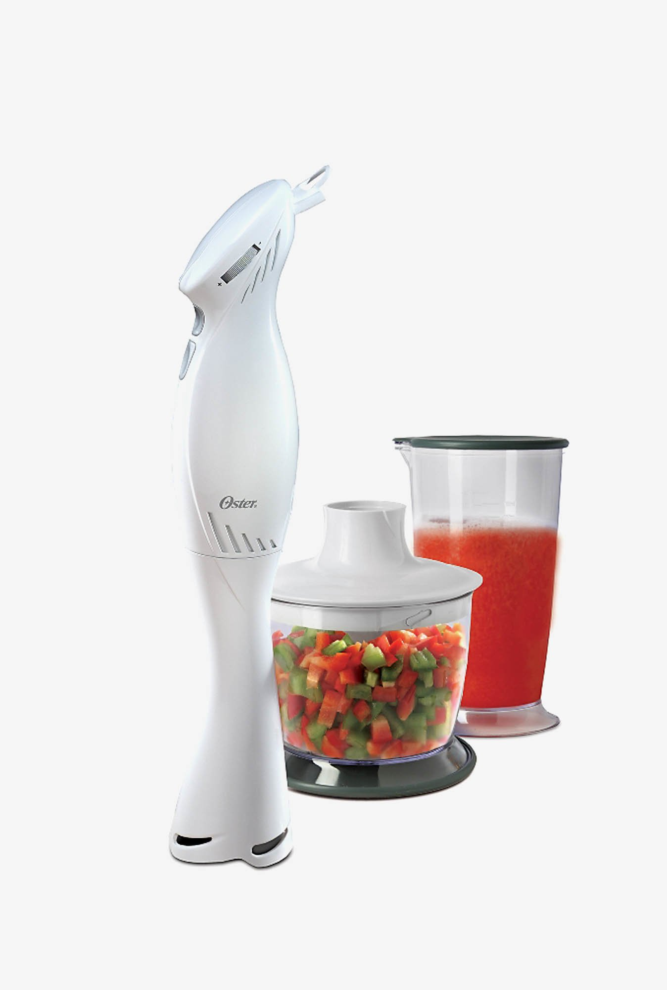 Oster 2612 Hand Blender with Chopping Attachment (White)