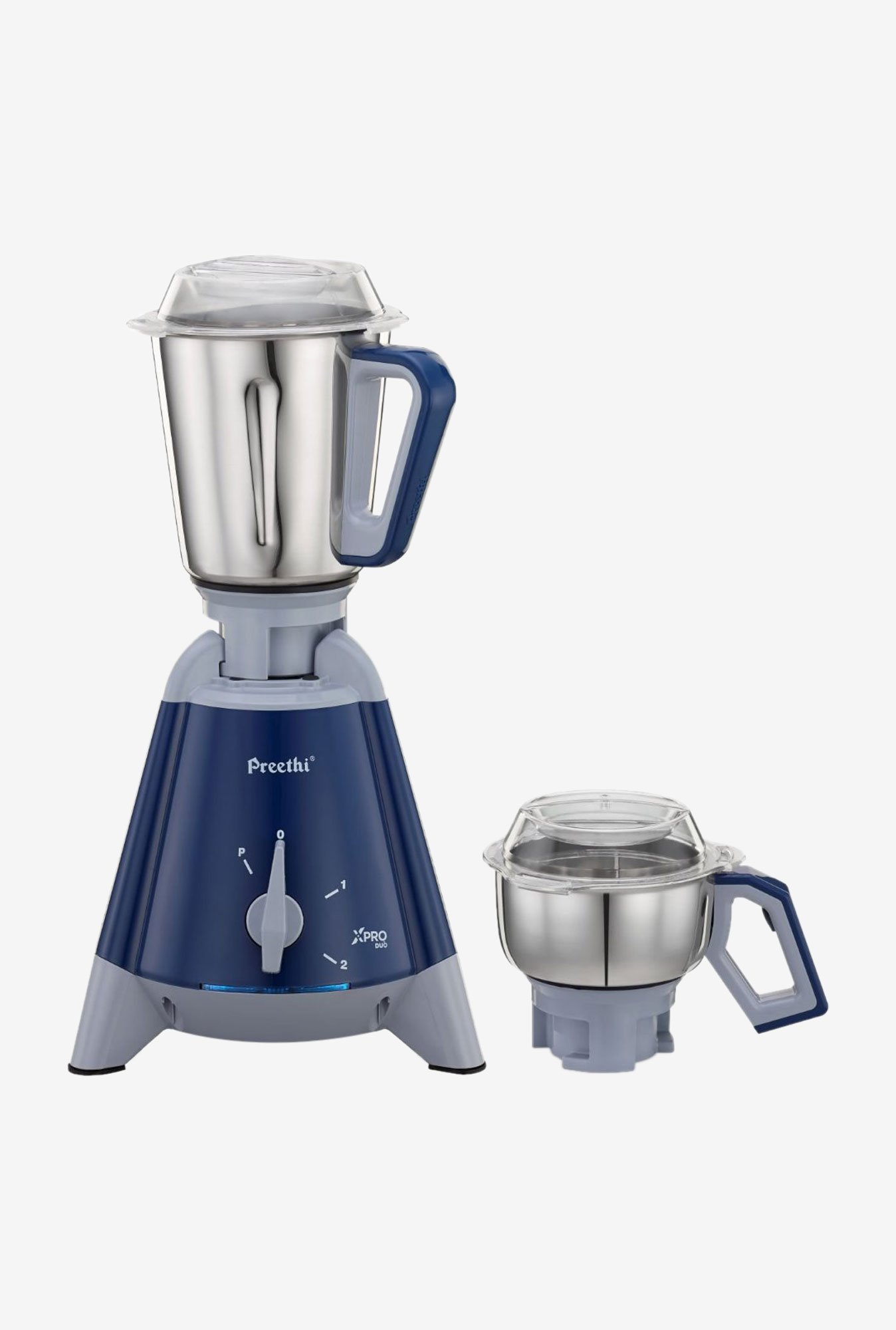 Preethi X Pro Duo MG198 1300W Mixer Grinder (Blue)