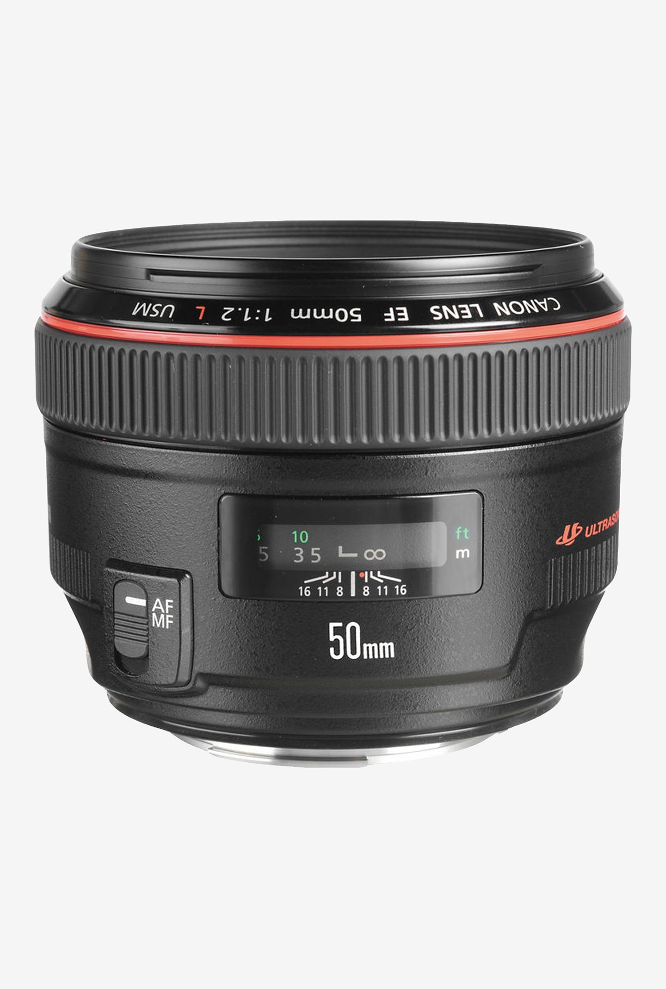 Canon EF 50mm f/1.2L USM Lens Black