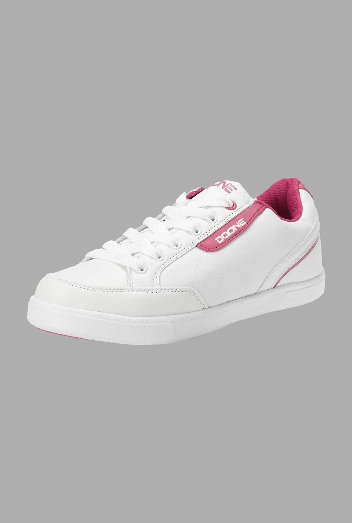 Doone White Training Shoes