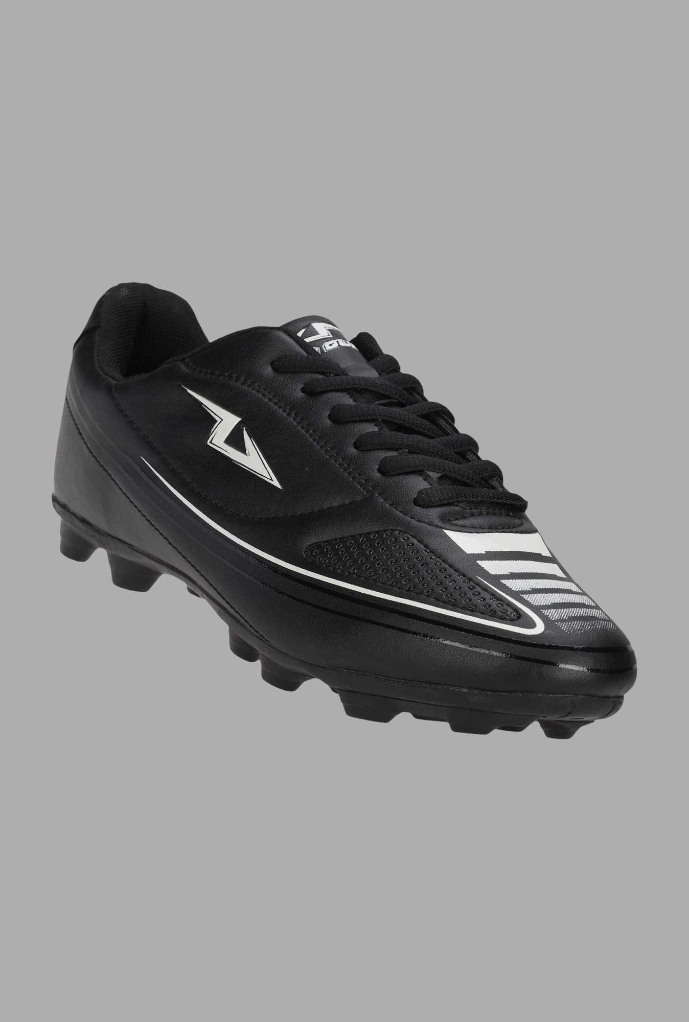 Team Quest Black Football Shoes