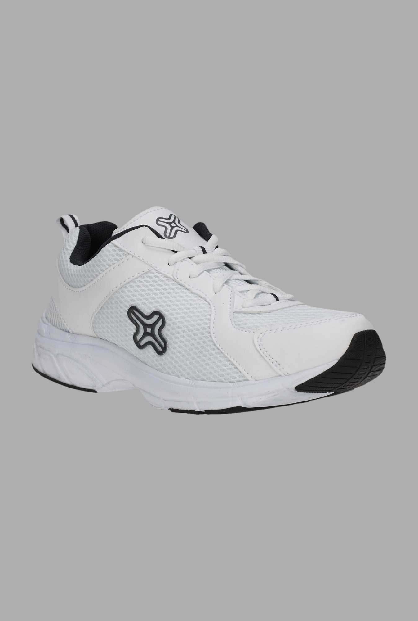 Outpace White Running Shoes