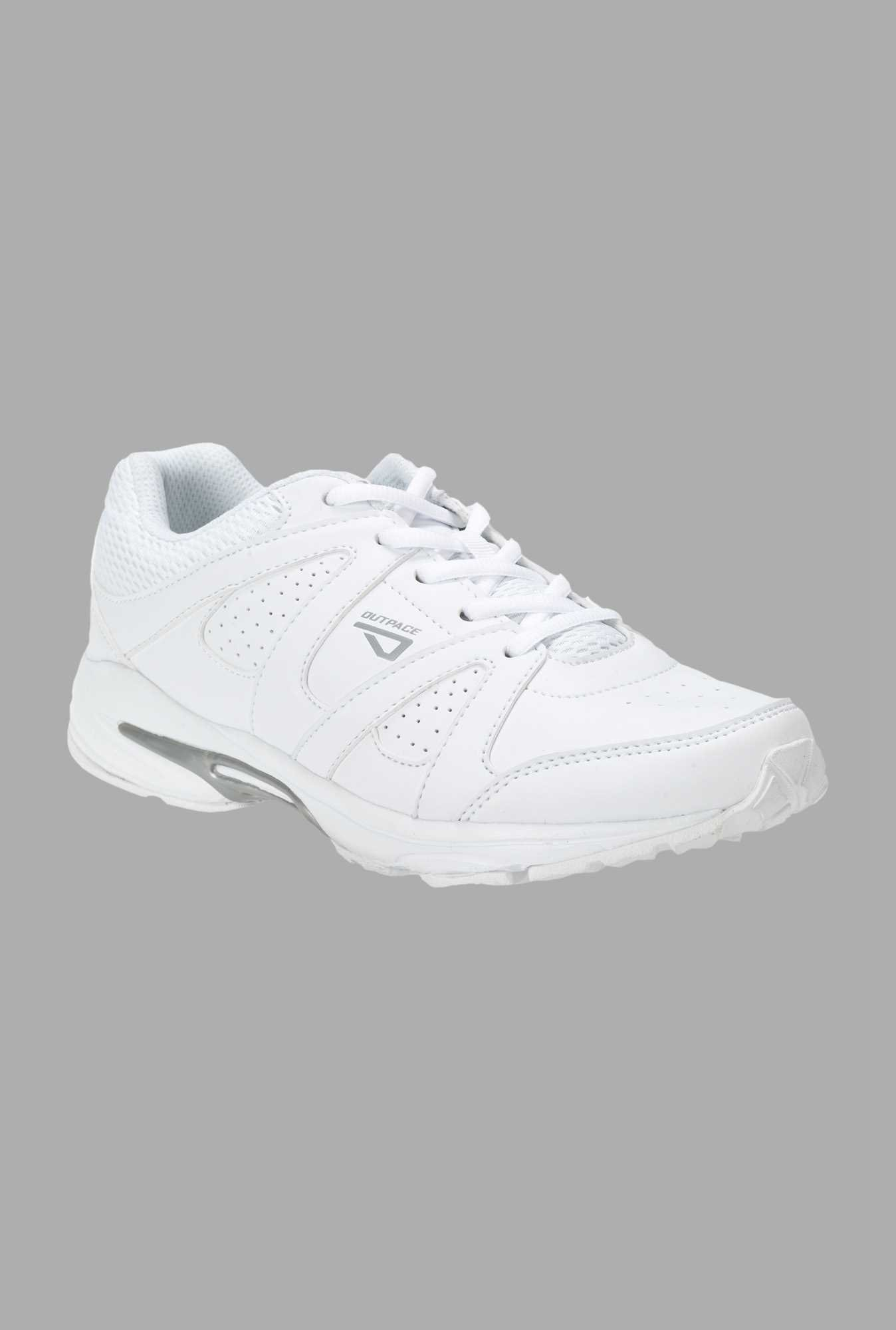 Outpace White Training Shoes